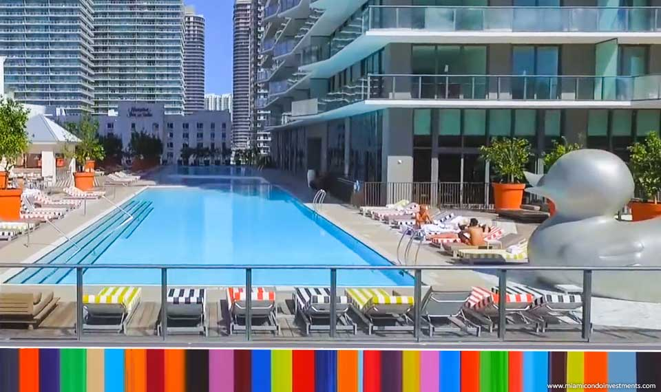 References: SLS Brickell Hotel & Residences, Miami - Myrtha Pools
